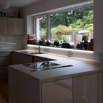 Spritzschutz aus Glas für jede Küche -  Glas Moor