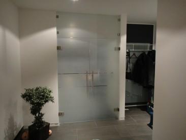 Innentüren aus Glas und Glasschiebetüren - Glas Moor